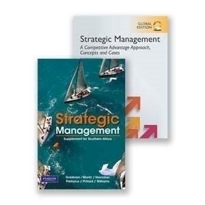 Picture of Strategic Mngt Con & Cases 16/e GE & SA Sup