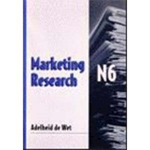 Picture of Marketing Research N6