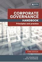 Picture of  Corporate Governance Handbook - Principles and Practice