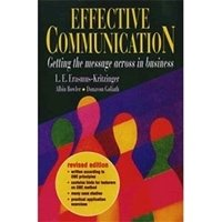 Picture of  Effective Communication  - SB: Print on demand title - delivery 2 - 3 weeks