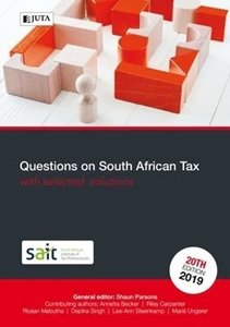 Picture of Questions on South African Tax