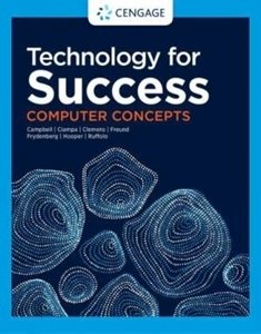 Picture of  Technology for Success : Computer Concepts