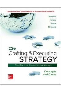 Picture of  Crafting & Executing Strategy - Concepts & Cases