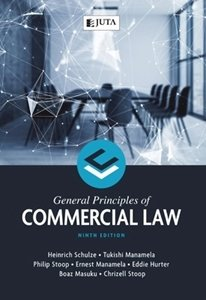 Picture of General Principles of Commercial Law