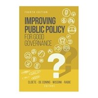 Picture of  Improving public policy for good governance