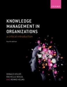 Picture of  Knowledge Management in Organizations - A critical Introduction