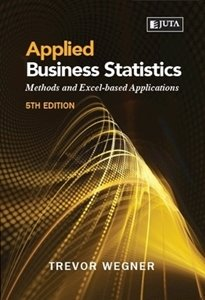Picture of  Applied Business Statistics: Methods and Excel-based Applications