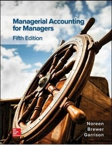 Picture of BUNDLE - Managerial Accounting - bundle with connect: Access to support and eBook for 1 year from activation